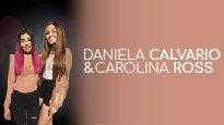 Daniela Calvario y Carolina Ross
