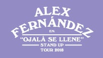 Alex Fernández Stage