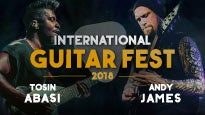 International Guitar Fest con Tosin Abasi y Andy James