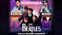 Homenaje a Elvis, Beatles y Michael Jackson