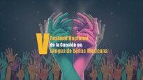 Abono 5to. Festival Nacional de la Lengua de Señas Mexicana
