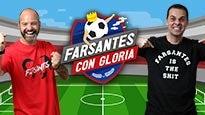 Farsantes con Gloria Christian Martinoli y Luis García