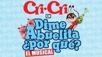 Dime Abuelita ¿Por que? con las canciones de CriCri