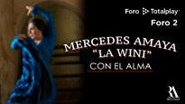 """Mercedes Amaya """"La Wini"""" presenta """"Con el alma"""""""
