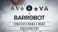 Ave Eva y Bar Robot en concierto Mano a Mano