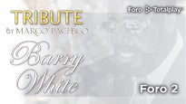 """""""LET THE MUSIC PLAY"""" A Barry White Tribute"""