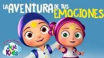 """Jejé kids """"El musical"""": La aventura de tus emociones"""