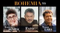 Bohemia 59: Santa Benith, Fato, Tavo Lara