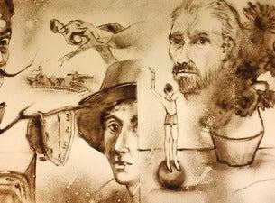 Bilder einer Ausstellung – the sandpictures of the great artists