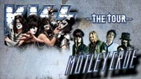 THE TOUR 2012: KISS AND MÖTLEY CRÜE presale password for early tickets in Albuquerque