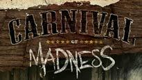 presale password for Carnival of Madness 2012 tickets in Charlotte - NC (Verizon Wireless Amphitheatre Charlotte)