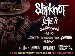 Rockstar Energy Drink Mayhem FestivalTickets