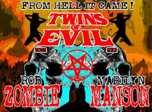 Twins of Evil Tour: Rob Zombie & Marilyn Manson Tickets