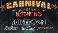 Carnival of Madness Tour featuring Shinedown presale password for early tickets in Tinley Park