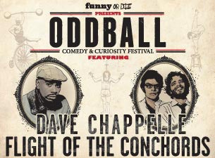 Oddball Comedy & Curiosity Festival Tickets