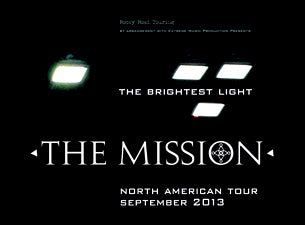 The Mission UK Tickets