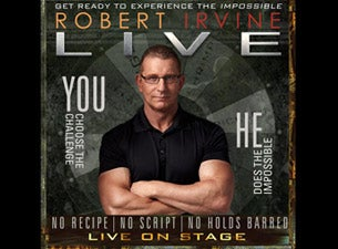 Chef Robert Irvine Live! Tickets