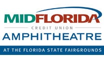 Logo for MIDFLORIDA Credit Union Amphitheatre at the FL State Fairgrounds