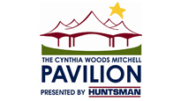 Logo for The Cynthia Woods Mitchell Pavilion presented by Huntsman