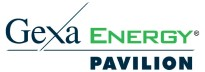 Logo for Gexa Energy Pavilion