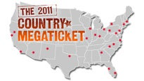 presale passcode for 2011 Country Megaticket tickets in Noblesville - IN (Verizon Wireless Music Center)