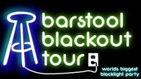 More Info AboutTHE BARSTOOL BLACKOUT TOUR