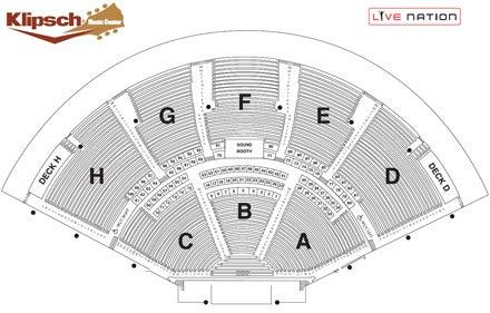Country Megaticket Klipsch Music Center 2013