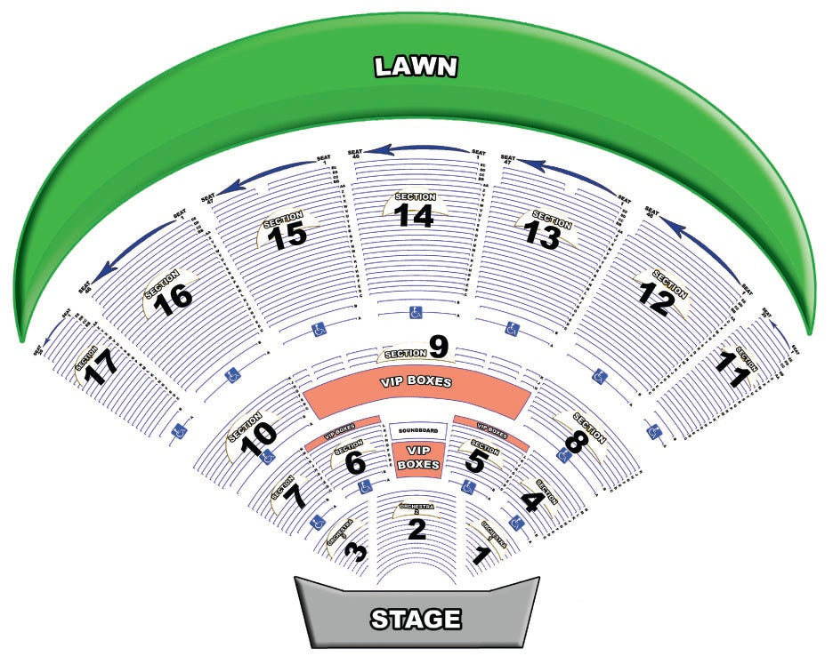 Ford amphitheater tampa mega ticket for Ford motor credit tampa