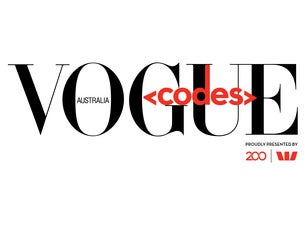 Vogue Codes Tickets | Events in 2019-20 | Ticketmaster AU