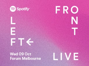 Spotify Front Left Live