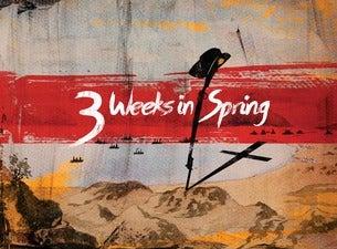 3 Weeks in Spring