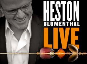 Heston BlumenthalTickets