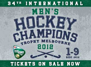 Hockey Champions Trophy 2012 Tickets