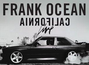 Frank OceanTickets