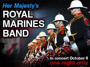 Band of Her Majesty's Royal Marines Tickets