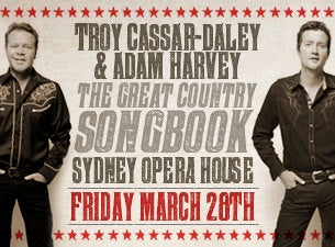 Troy Cassar-Daley Tickets
