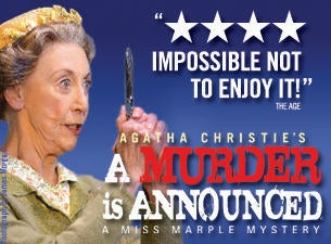 Agatha Christie's A Murder Is Announced Tickets