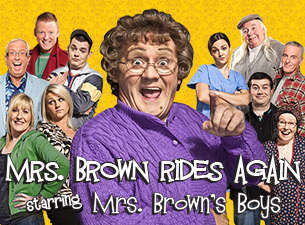 Mrs. Brown's Boys Tickets