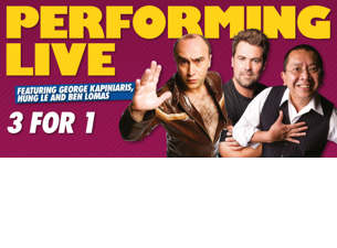3 for 1 Live At the Comics LoungeTickets