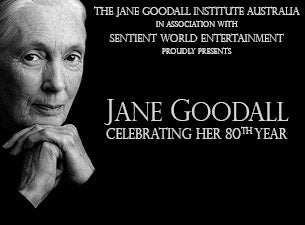 Dr. Jane Goodall Tickets