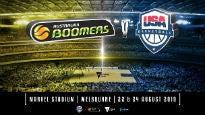 Australian Boomers v USA Basketball