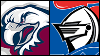 Manly Warringah Sea Eagles v Newcastle Knights