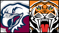 Manly Warringah Sea Eagles v Wests Tigers