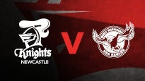 Newcastle Knights v Manly Sea Eagles