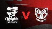 Newcastle Knights v New Zealand Warriors