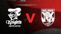 Newcastle Knights v Canterbury Bulldogs