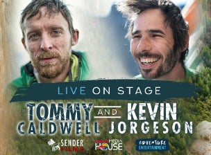 Tommy Caldwell & Kevin Jorgeson Live on Stage with The Dawn Wall