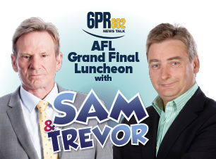 Grand Final Lunch Spectacular - Sam Newman & Trevor Marmalade