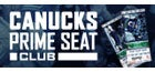 CANUCKS PRIME SEAT CLUB