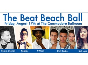 The Beat Beach Ball Tickets